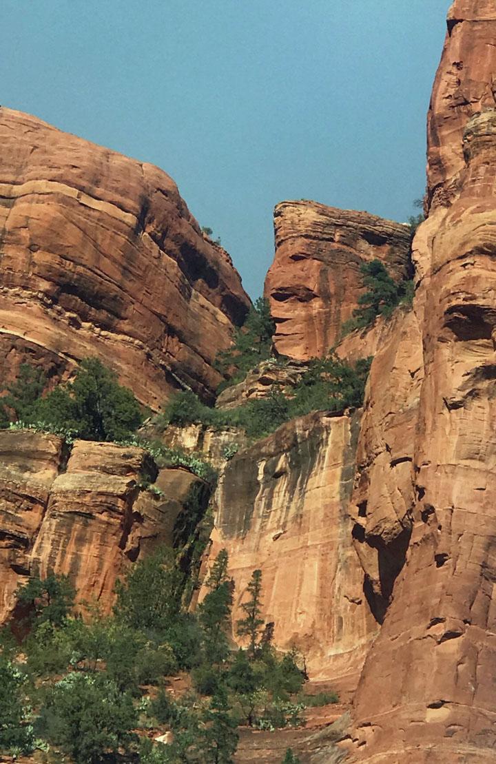 Joeann Fossland, Sedona, Arizona, Mii amo spa, hiking, trails, Grand Canyon