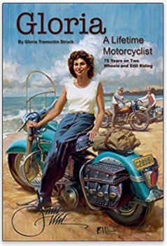 Road sports, motorcycle, moto, racing, competition, BMW, Harley-Davidson, international, Gloria Tramontin-Struck, books