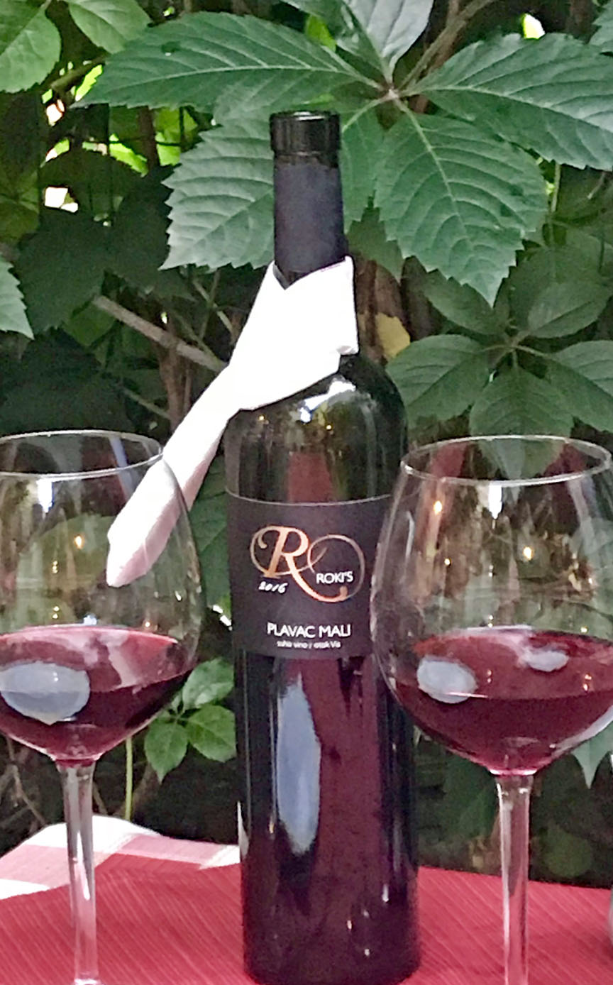 Croatia, peka, octopus, Vis, Roki's Konoba, Plavac Mali, wine