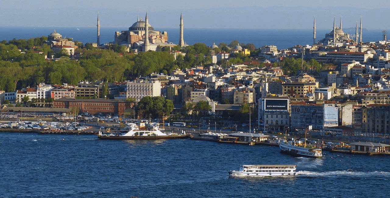 View of Istanbul over the Golden Horn