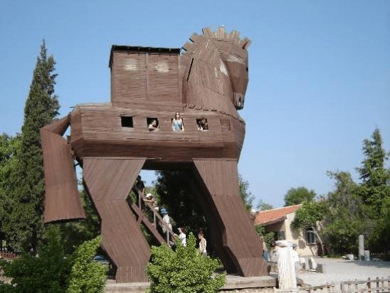 Modern version of the Trojan Horse
