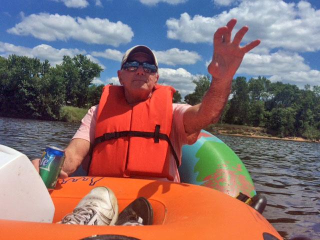 Wisconsin River Tubing