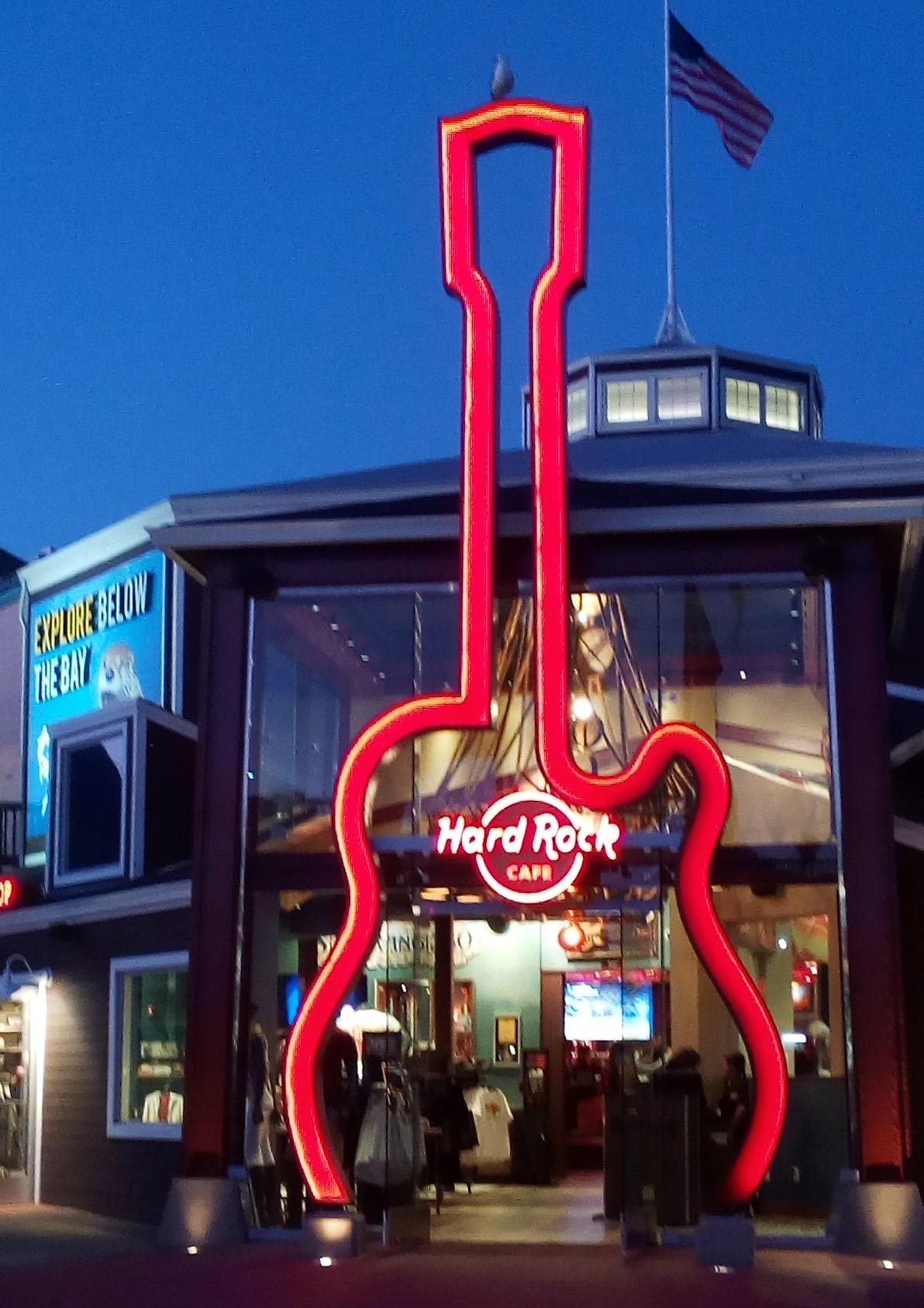 San Francisco Bay Area - Hard Rock Cafe