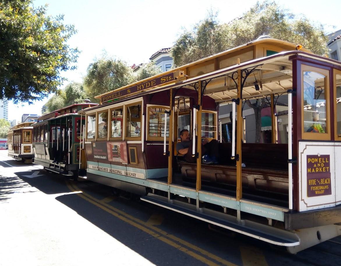 San Francisco Bay Area - Cable Car