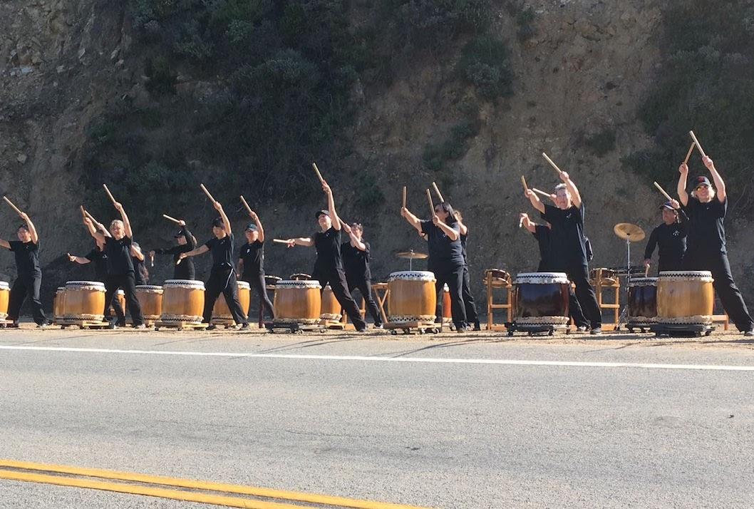 San Francisco Bay Area - Japanese drummers Big Sur