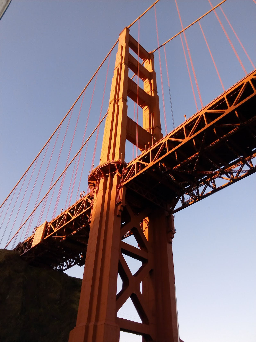 San Francisco Bay Area - Under Golden Gate