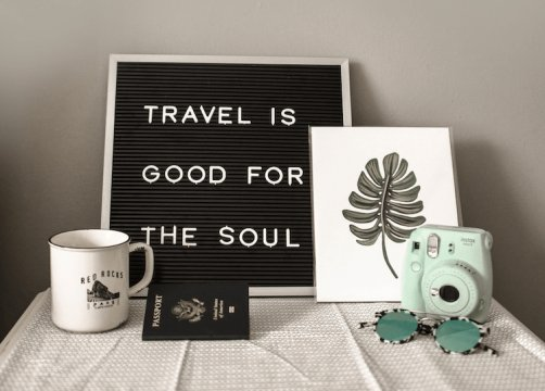 Travel is good for your soul image