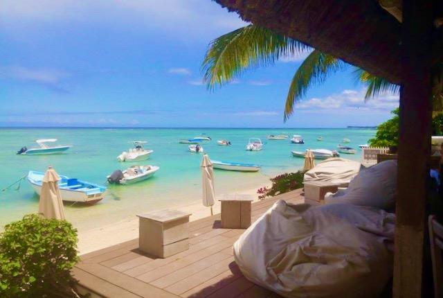 Bay Bar beach in Mauritius