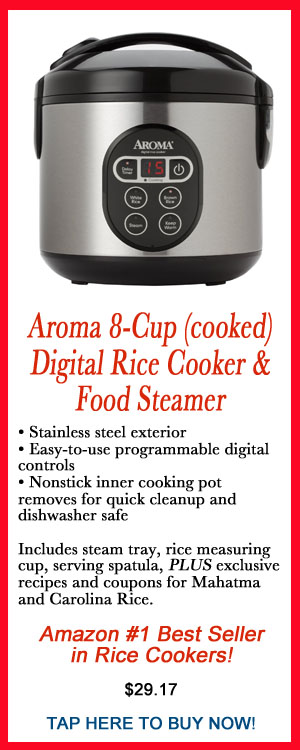 AROMA RICE COOKEr, rice cooking