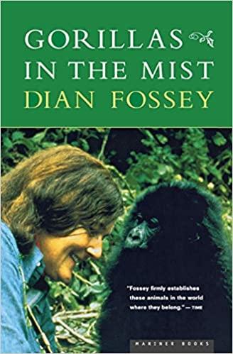 Gorillas in the mist book cover