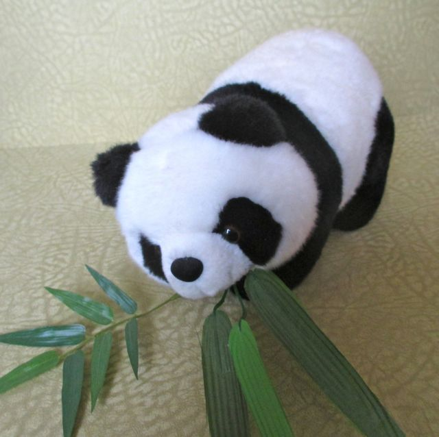 A panda toy on the Yangtze river cruise