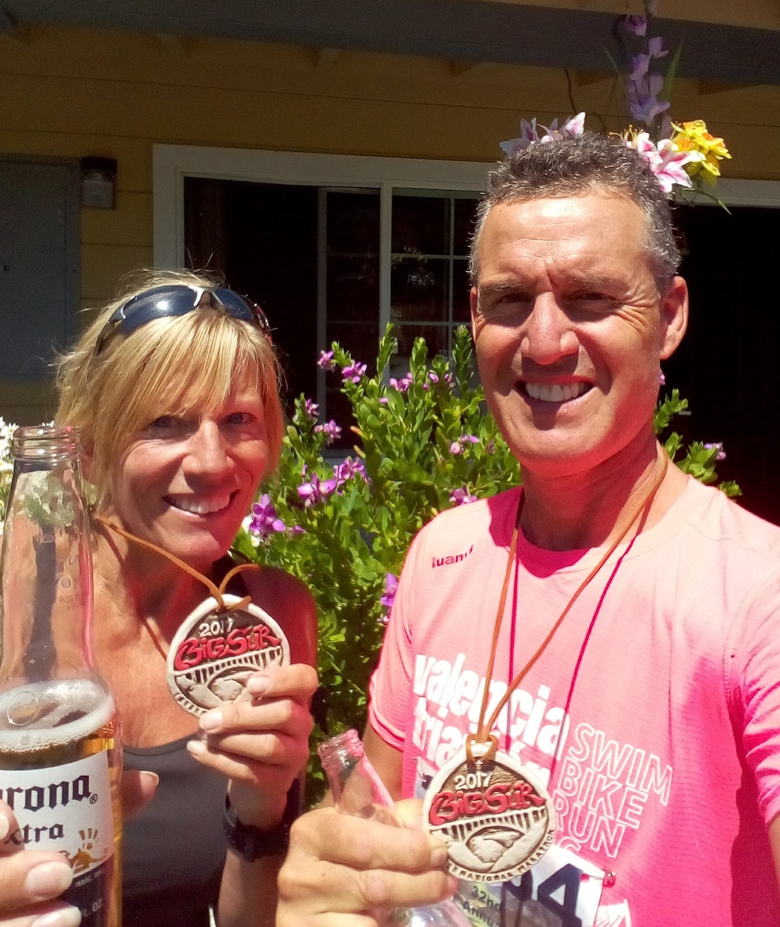 San Francisco Bay Area - Big Sur Marathin medals