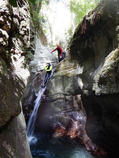 Canyoning Lucca, Italy Tracy Beard