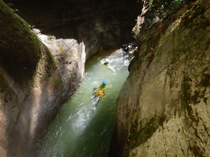 Canyoning Lucca, Italy Tracy Beard