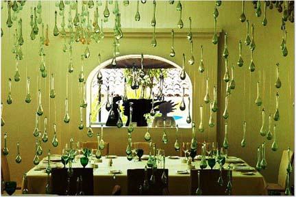 Cafe des Artistes in Puerto Vallarta, indoor dining room