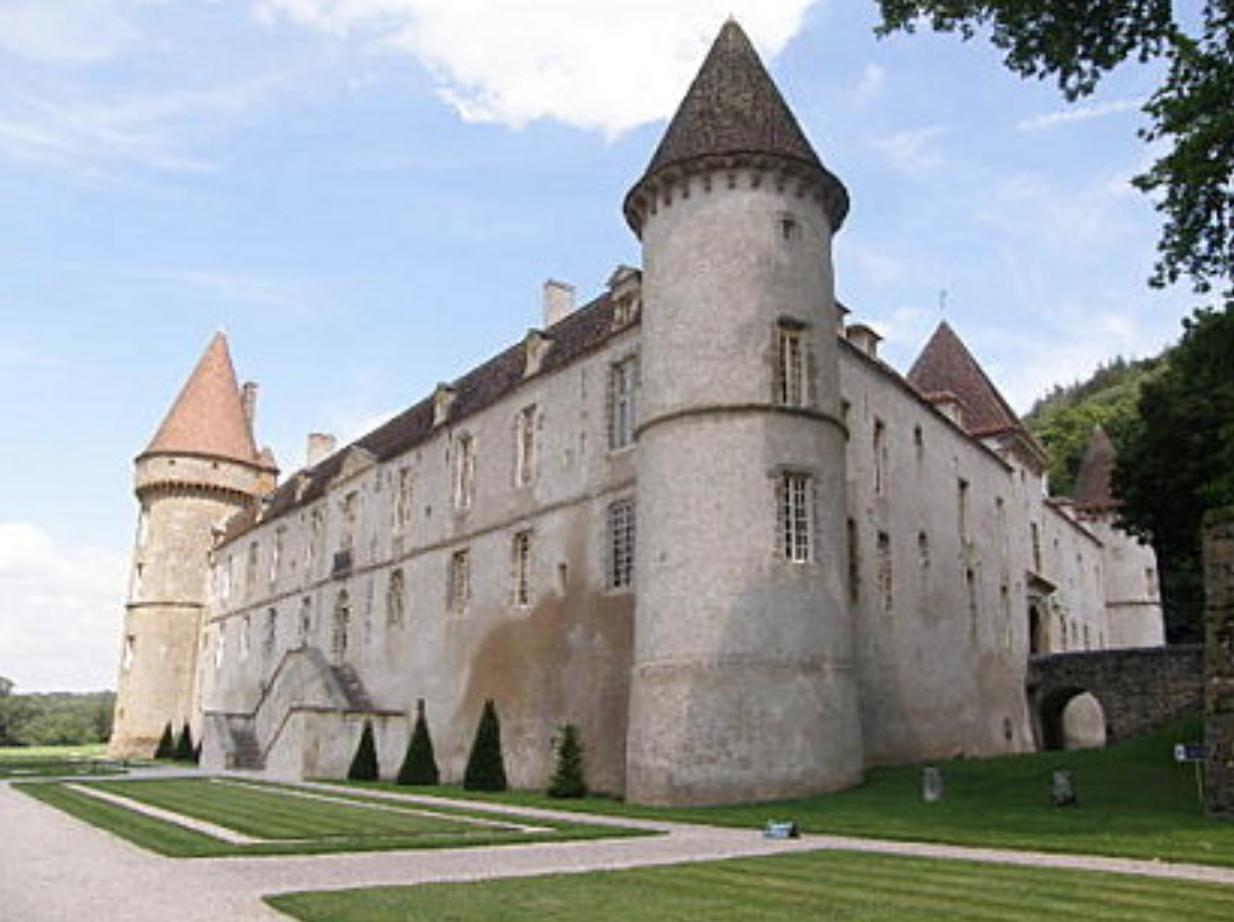 cruising Burgundy France