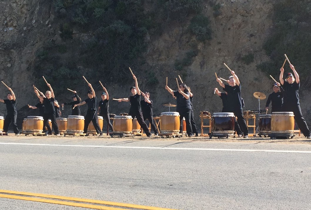 San Francisco Bay Area - Japanese drummers Big Sur