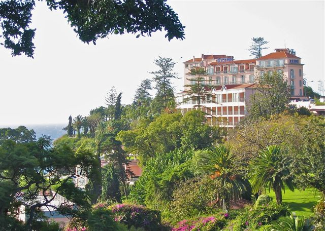 Reid's Palace Hotel, Funchal, Madeira, Portugal, travel
