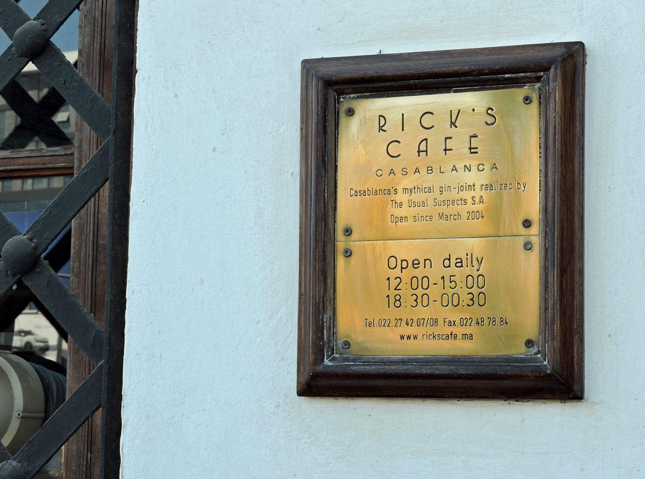 Ricks Café Casablanca