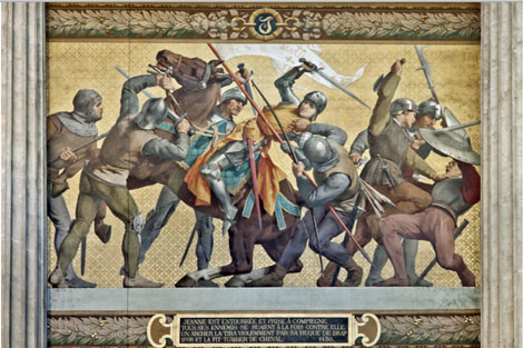 Rouen, France, Joan of Arc, Paris, Normandy, Burgundy, Domremy