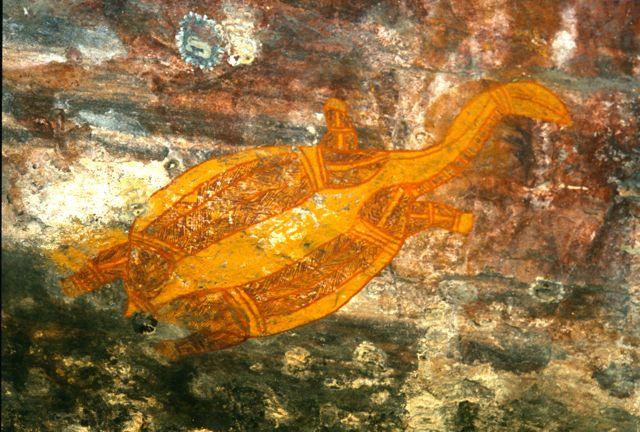 Aboriginal cave art Kakadu National Park, Australia