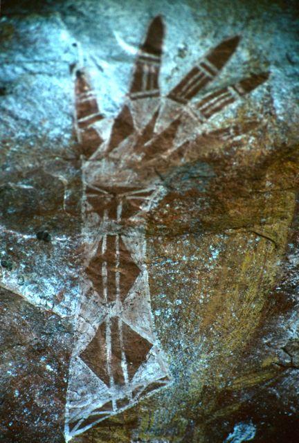 Aboriginal art in Kakadu National Park, Australia