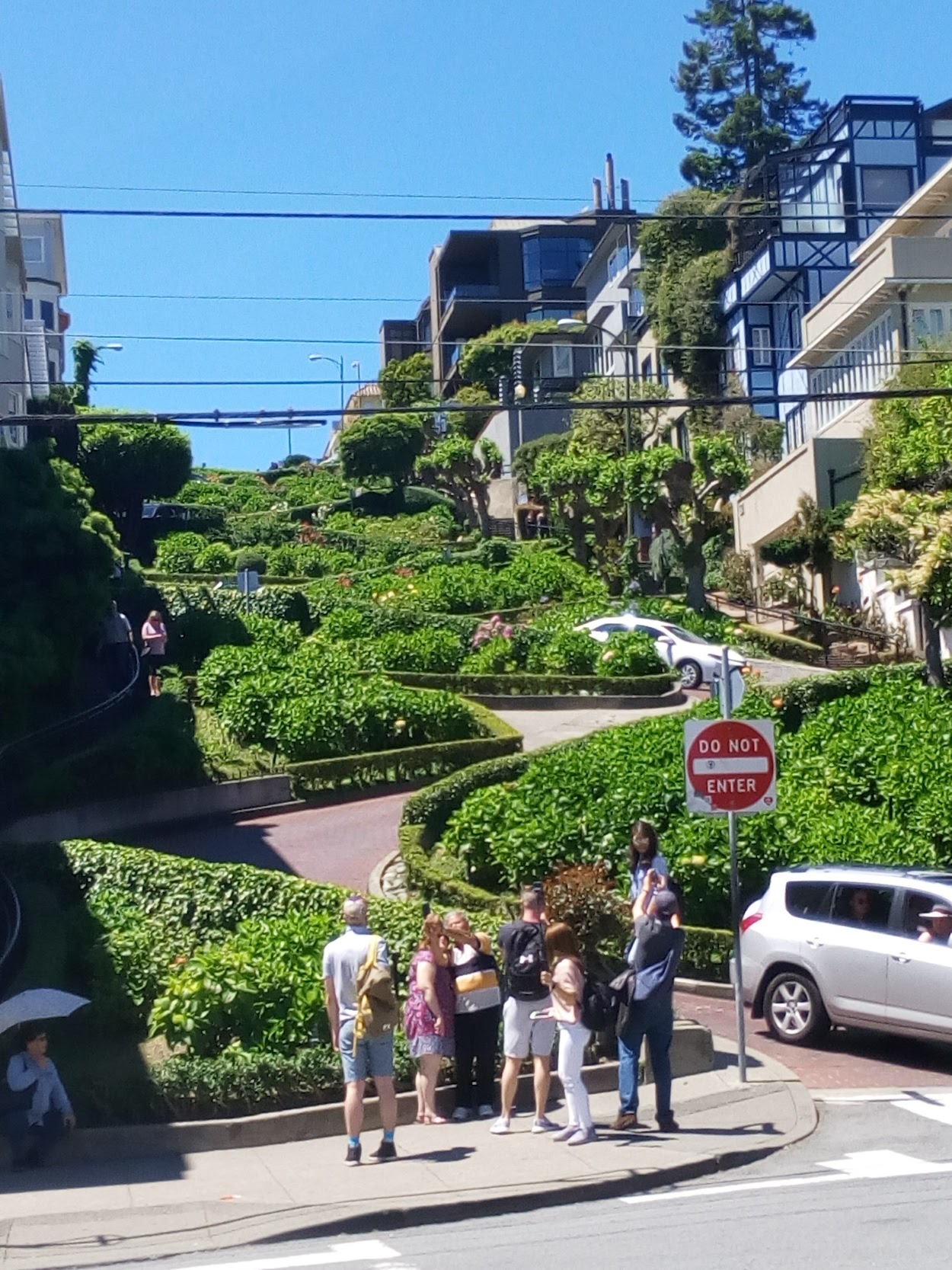 San Francisco Bay Area - Lombard Street