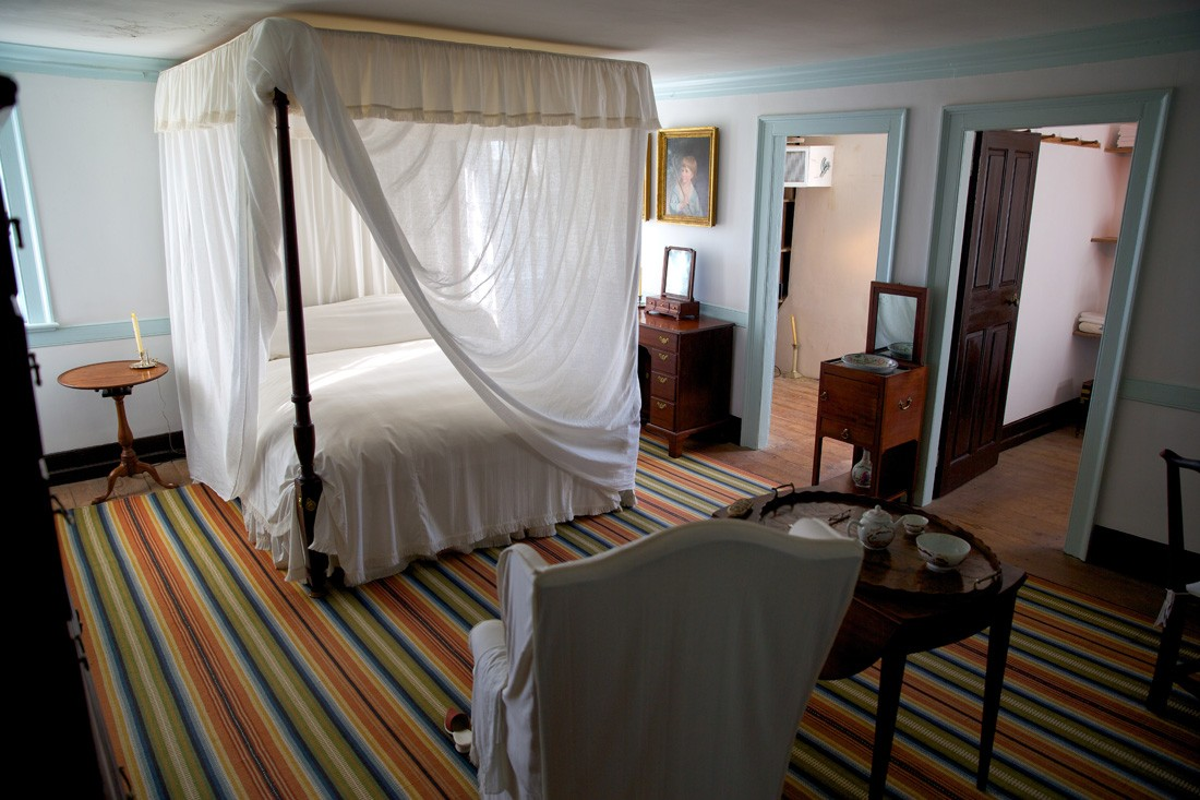 Bedroom at Mount Vernon, home of George Washington