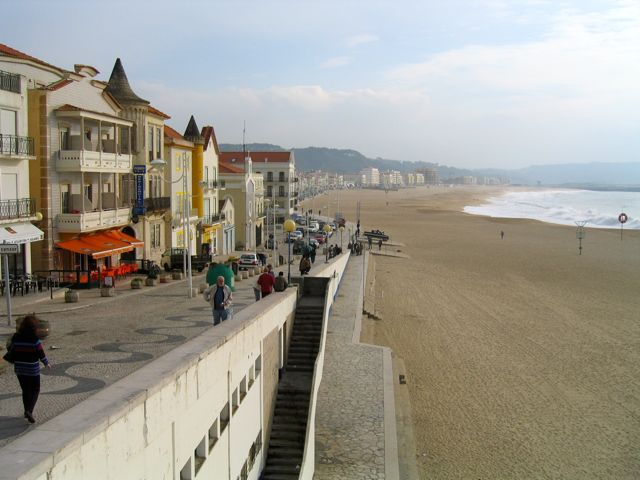 Portugal, beaches, Nazare, surfing