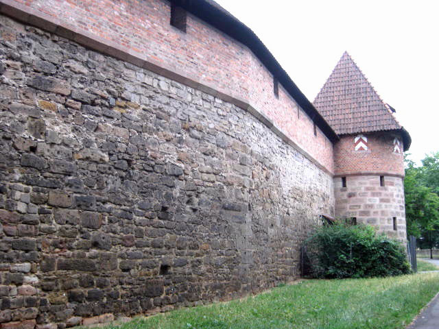 Nuremberg, Germany, old city, medieval, walls, Alstadt, northern Bavaria, trials, castle