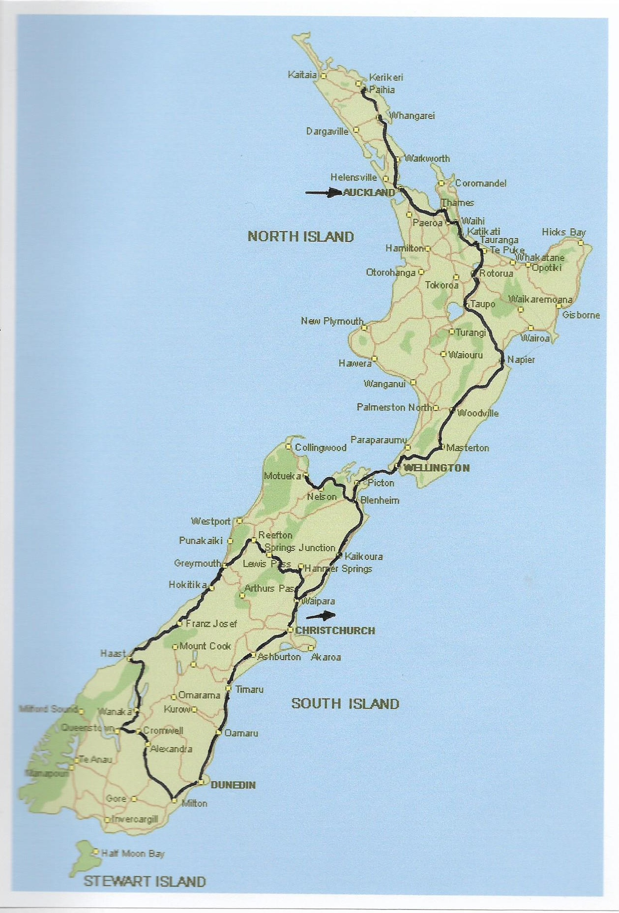 New Zealand Adventures North