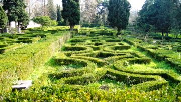 Gardens outside the Queluz Palace