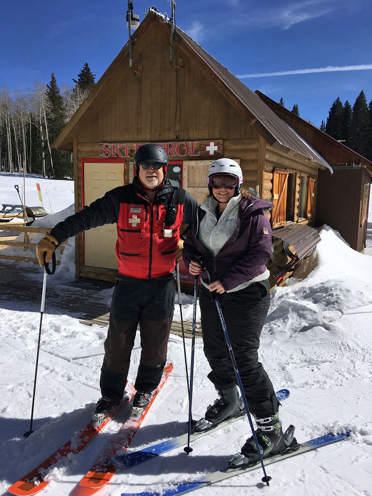 Ski Patrol at Powderhorn Colorado