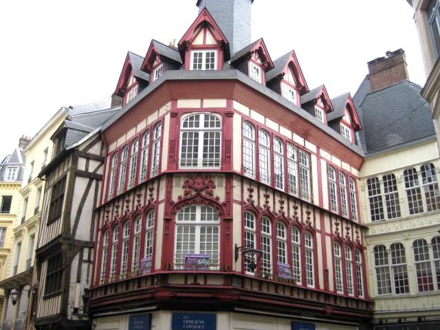 Rouen, France, Joan of Arc, Paris, Normandy, metro, architecture, restoration, medieval