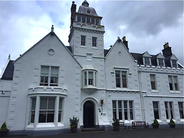 Skeabost Country House hotel on the Isle of Skye