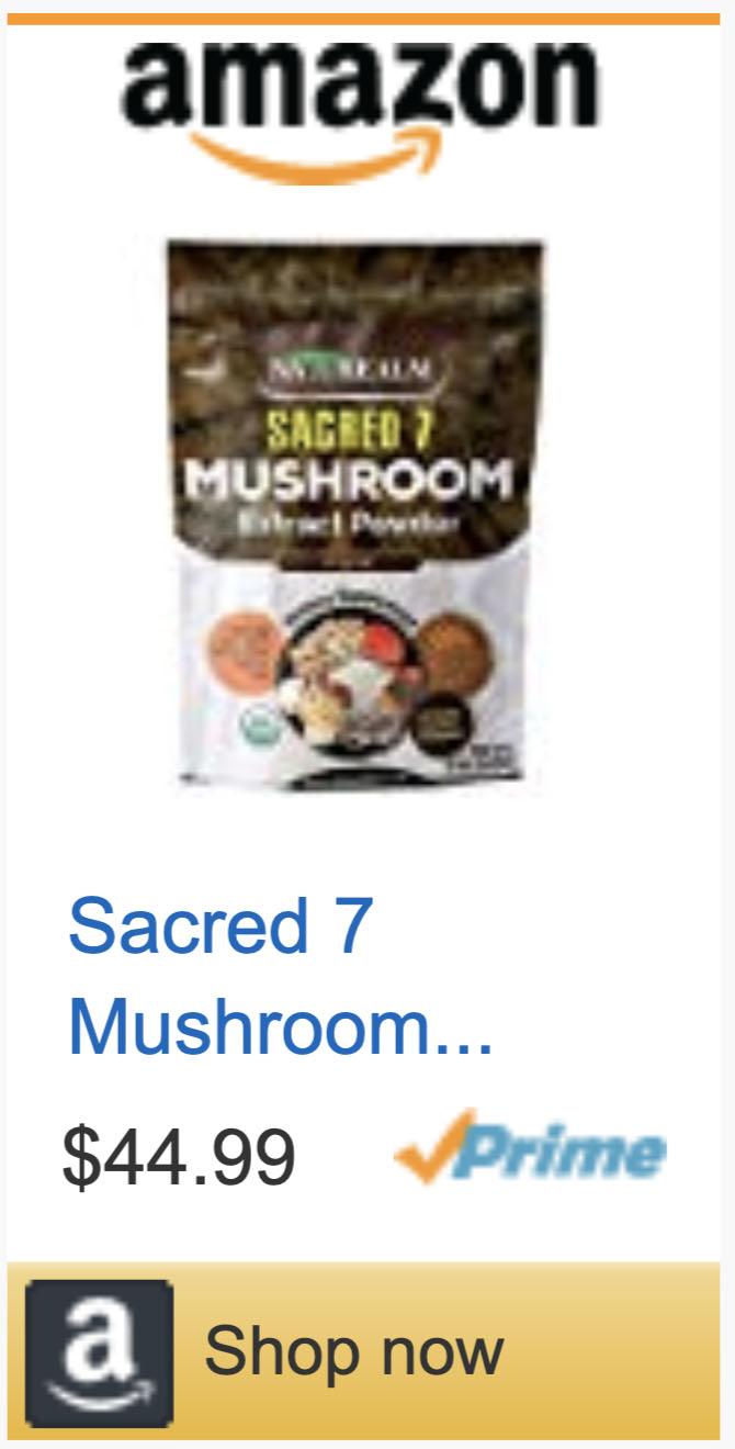 Sacred 7 Mushroom Powder Extract