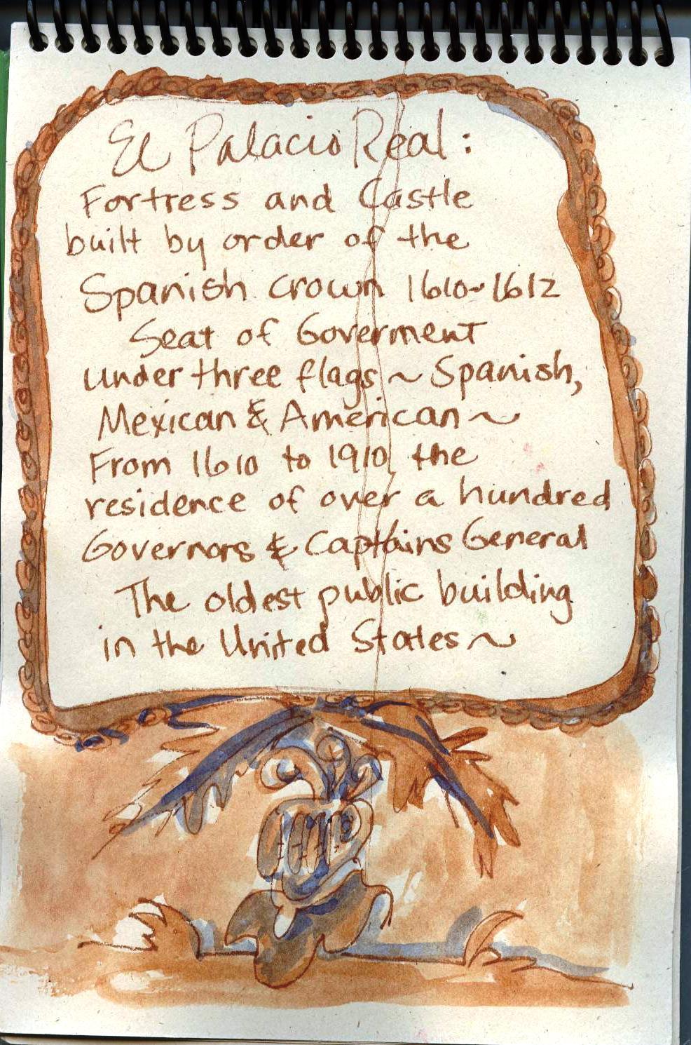 Travel Art Journal United States