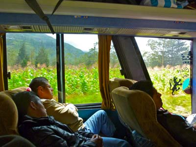 Bussing Andes