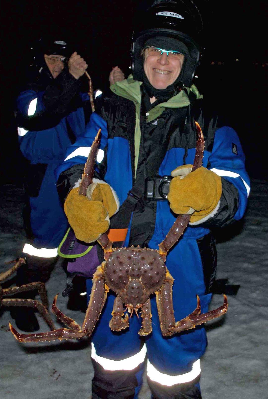 Kirkenes Snow Hotel Norway Crabs