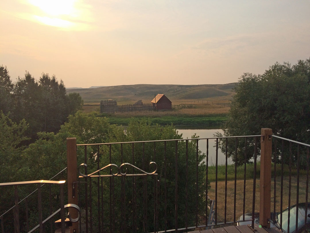 Crossing Grassland Saskatchewan