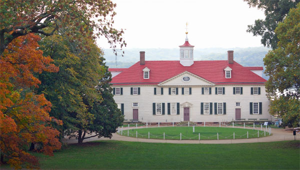 Mount Vernon, home of George Washington