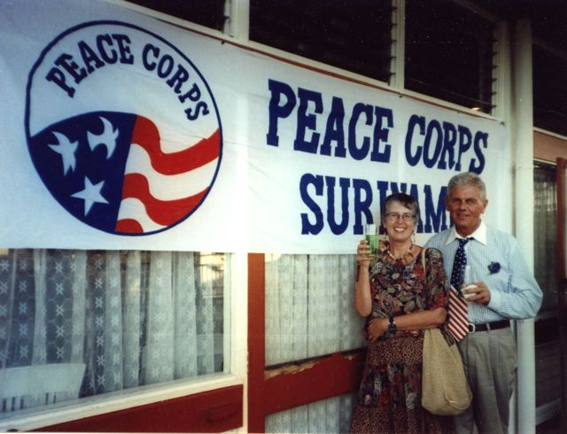 Surinam, suriname, Carolyn V. Hamilton, Cork Proctor, Peace corps, South America, Dutch guyana, Paramaribo
