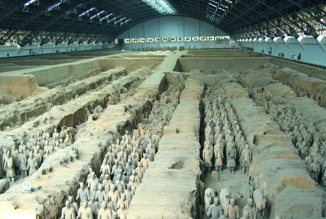 Xian - site of the Terra Cotta warriors