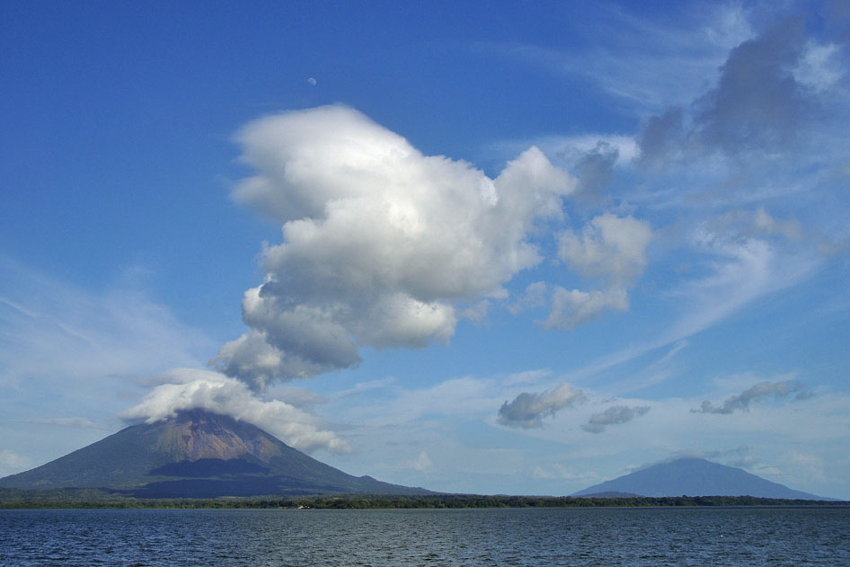 Ometepe Concepción fumaroles Nicaragua
