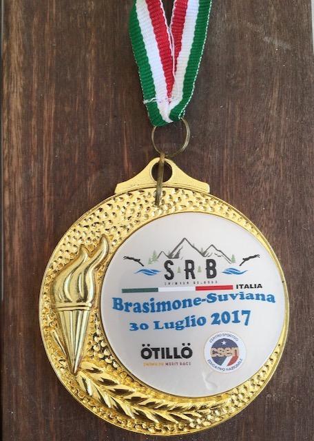 Italian Adventure race medal