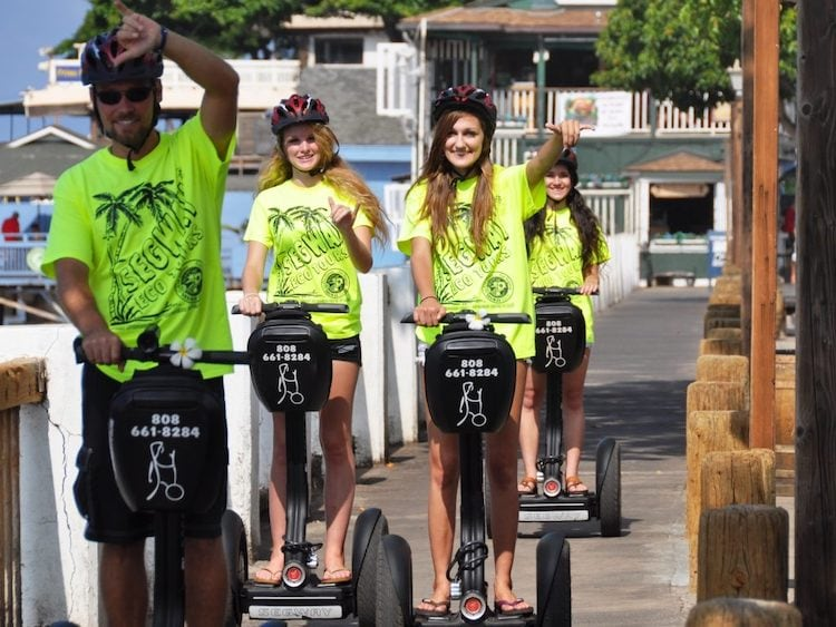 Best Maui Segway tour on the shore!
