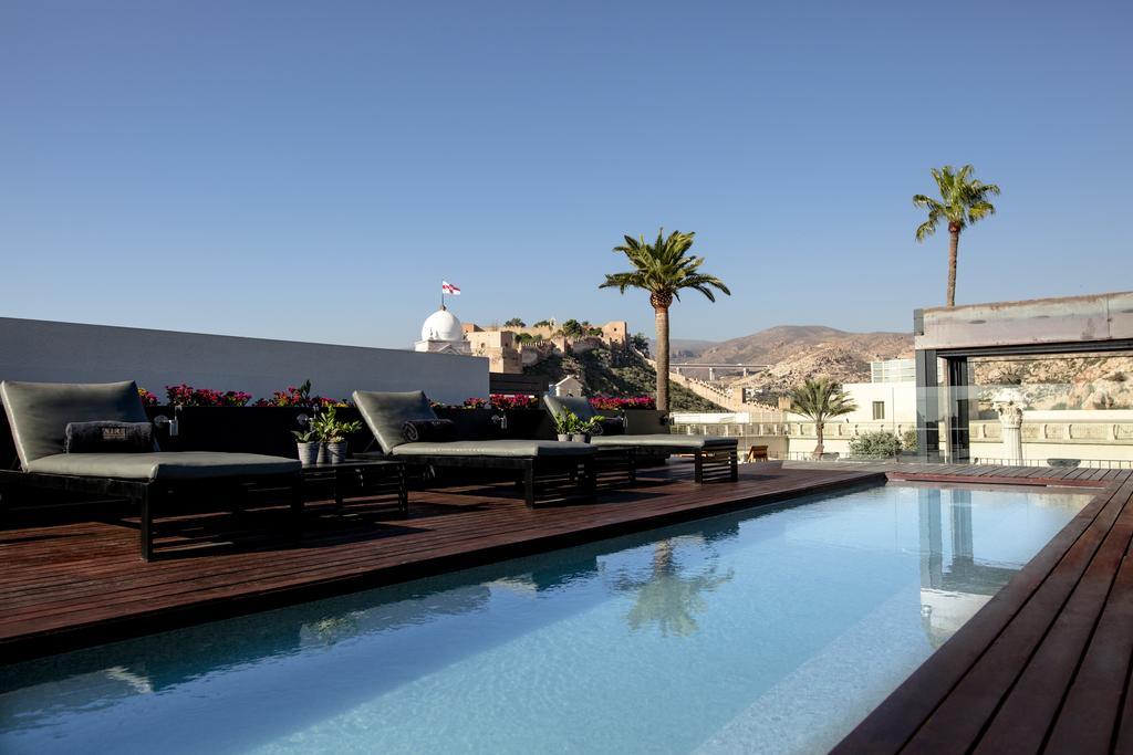 Almeria Spa Hotel Roof Top Pool