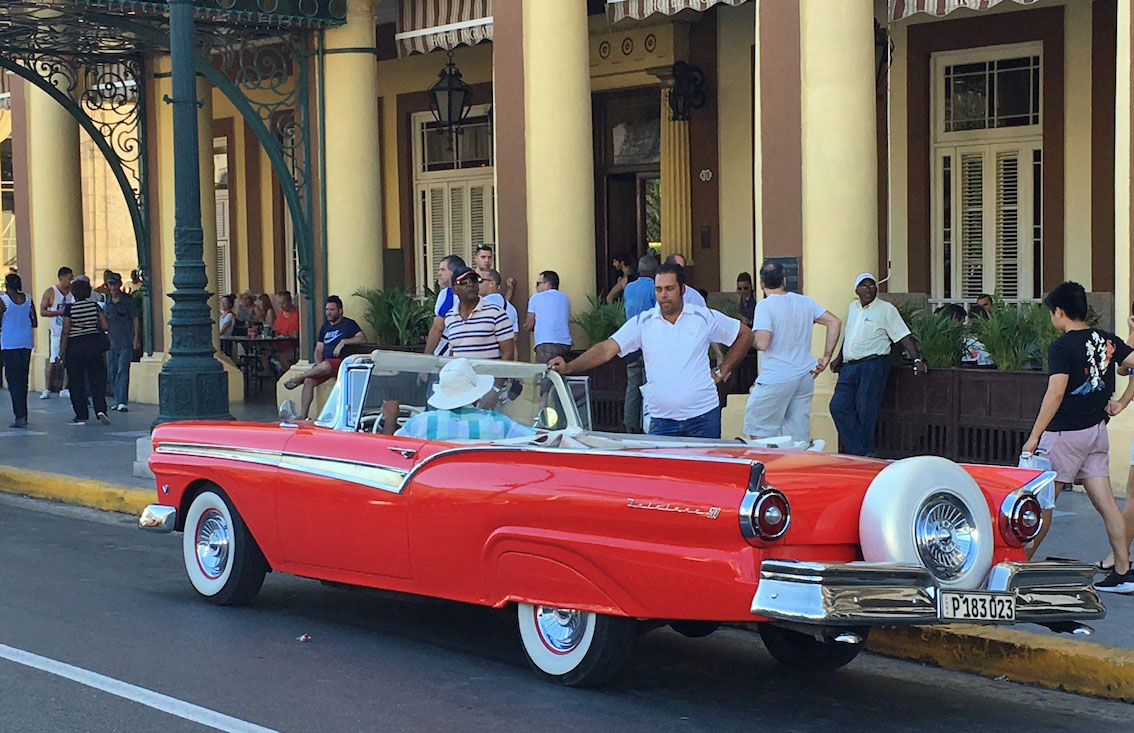 Havana, Cuba, cars, vintage, Fairlane, Unesco, travel