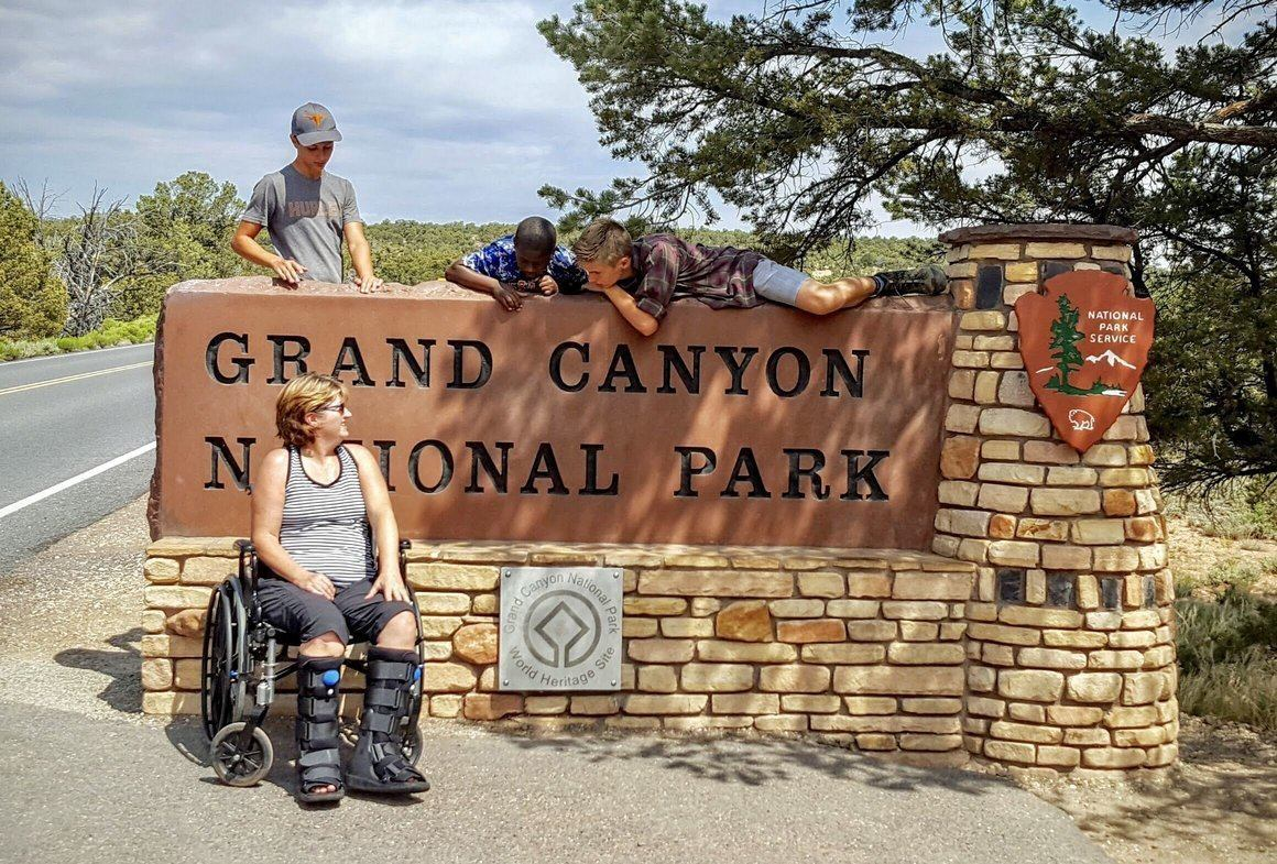 camping, camping gear, national parks, USA parks, car camping, family camping, handicap travel, handicap camping, Grand Canyon