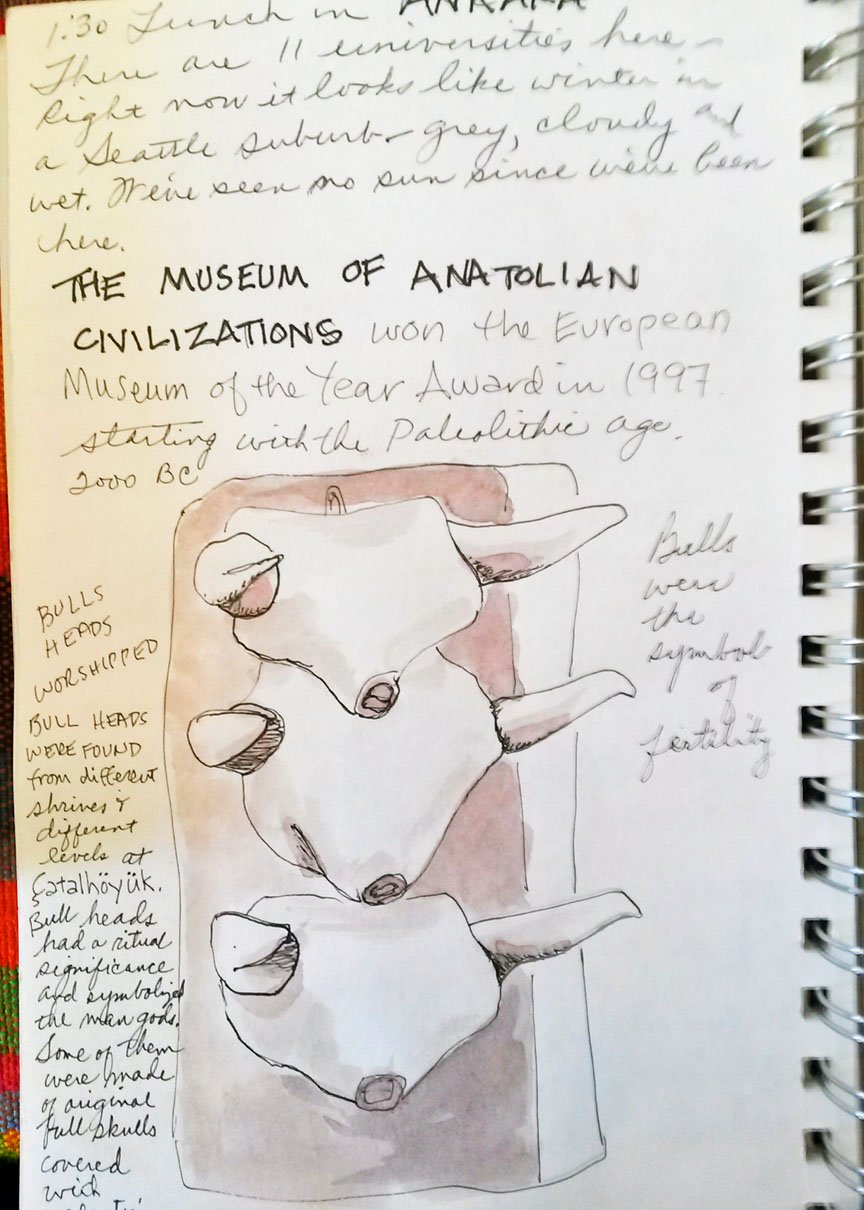 travel, Turkey, Art Journal, sketching, watercolor, Anatolia, Istanbul, Islam, Turkish culture